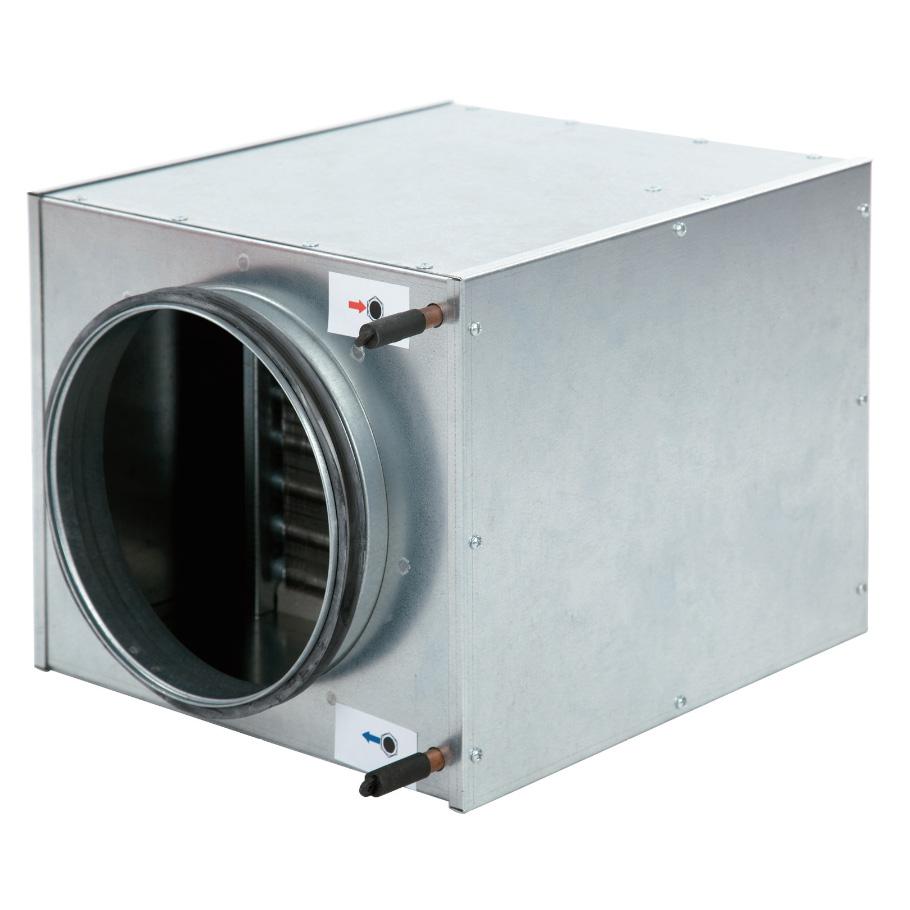 Verwarmings- en koelbatterijen incl. regelaars