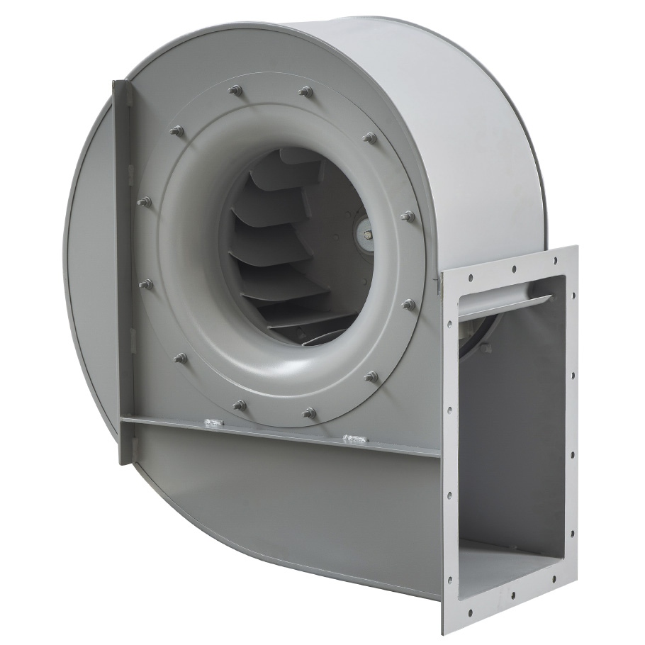 Backward curved centrifugal fans