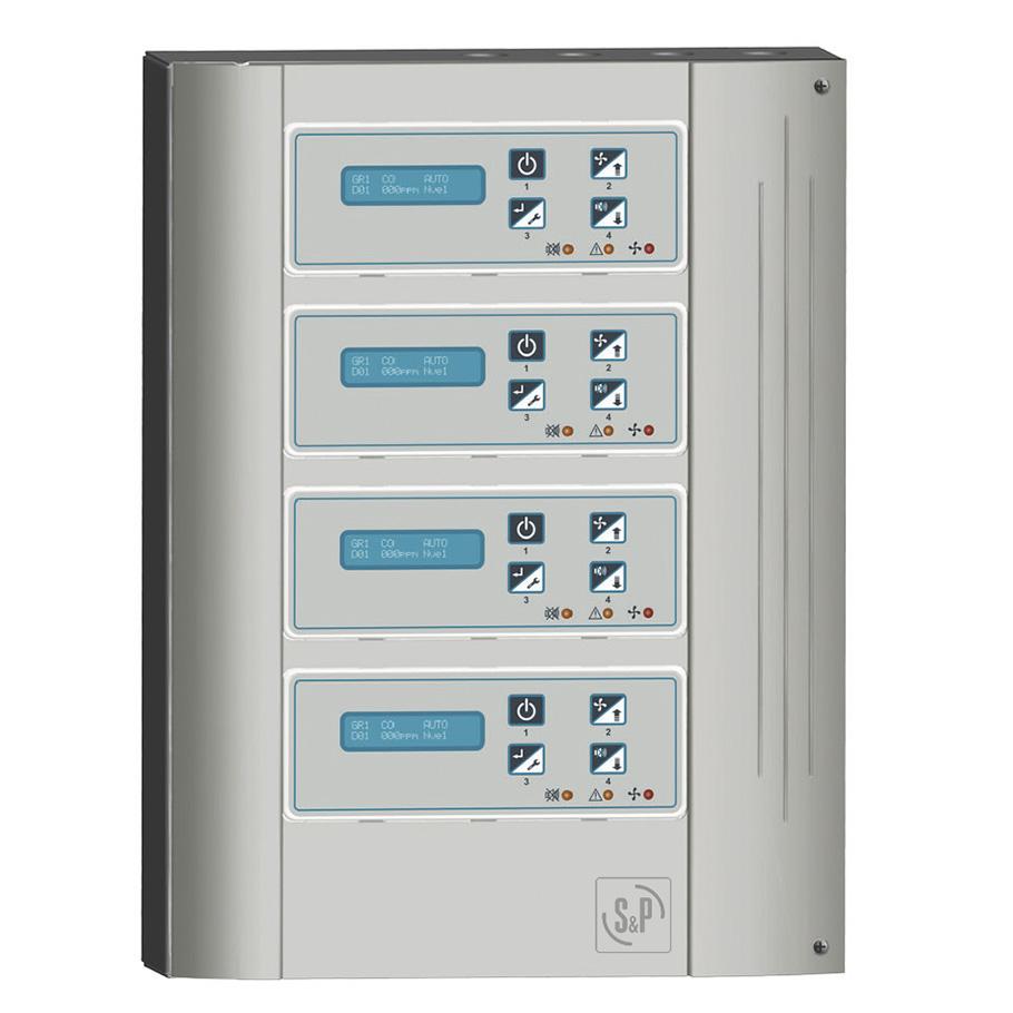Sistemas de detección de polución para la ventilación de aparcamientos