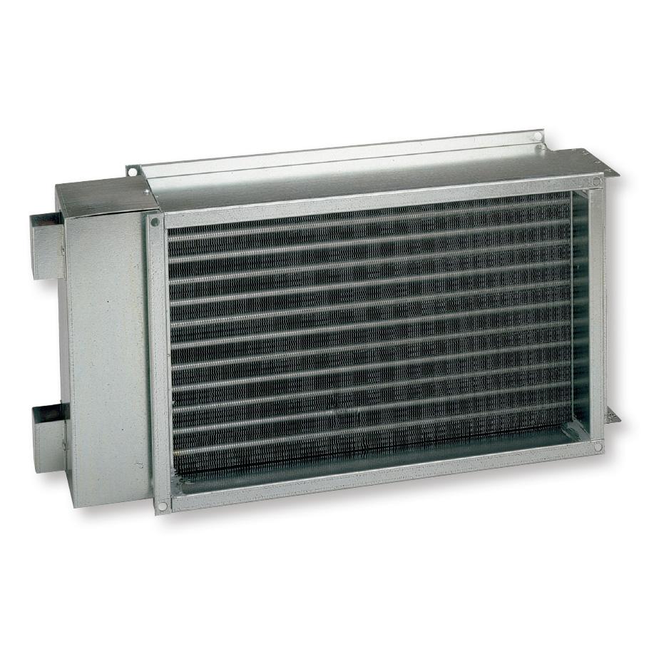 Baterías de calefacción de agua caliente