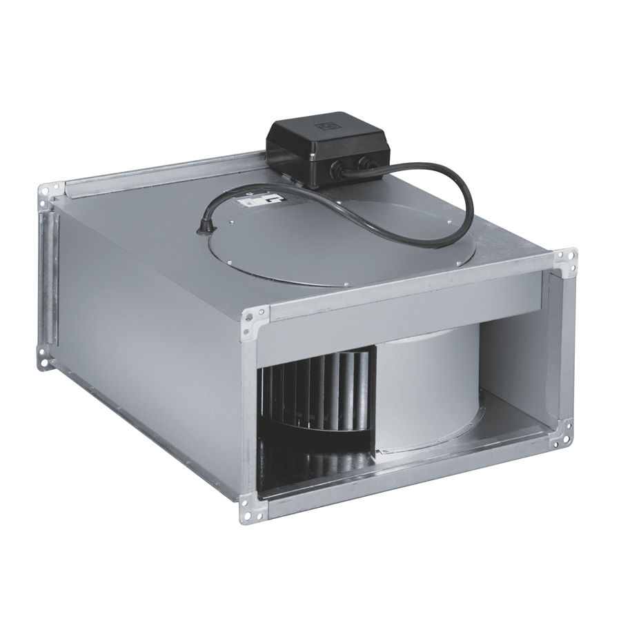 In-line rectangular duct fans
