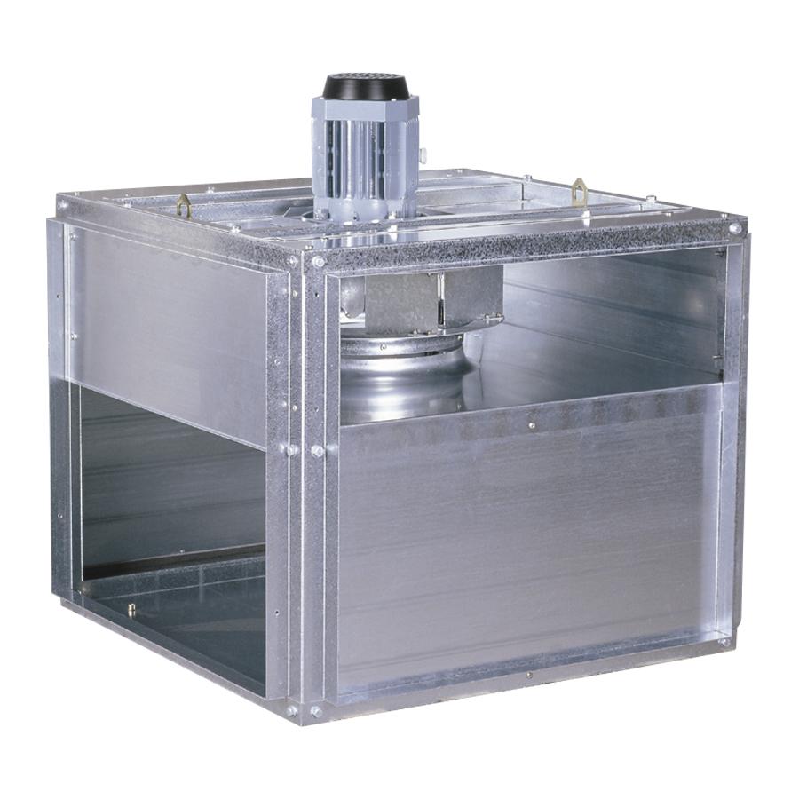 Caissons et ventilateurs centrifuge