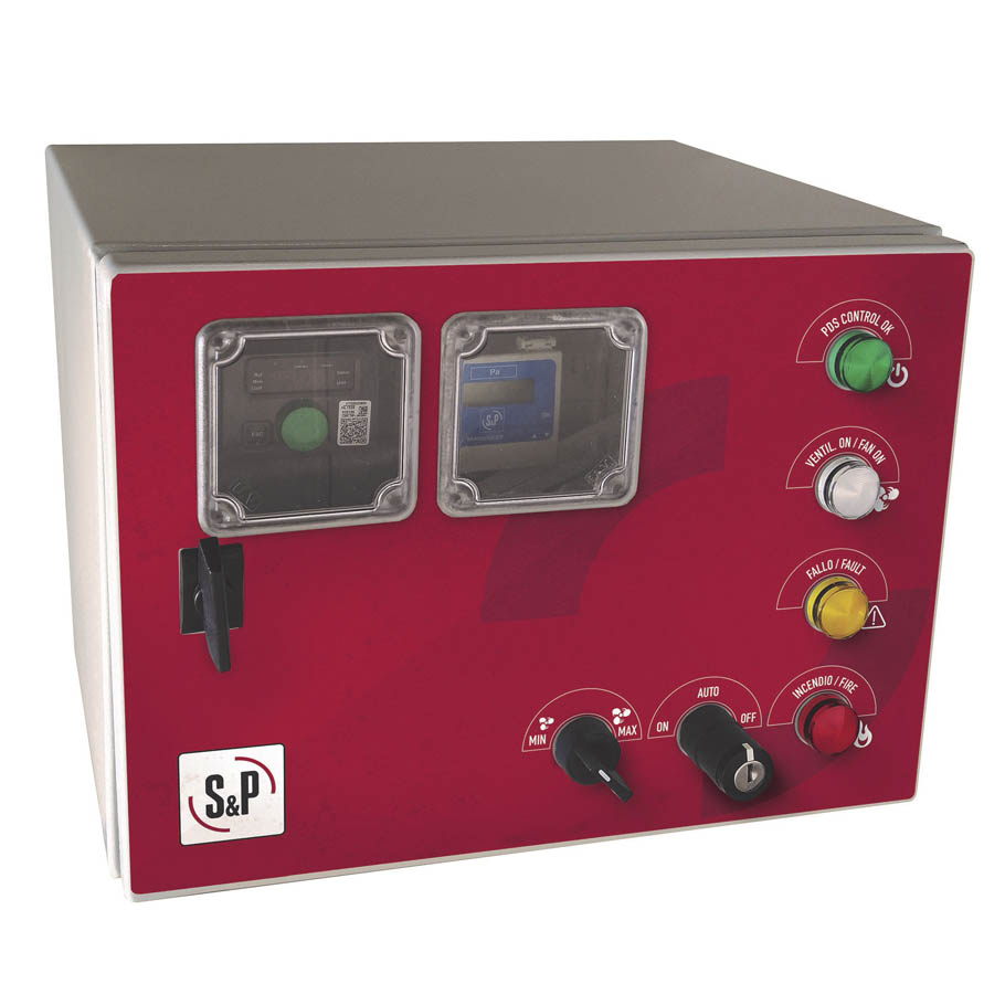 Control panels for Pressure Differential Systems