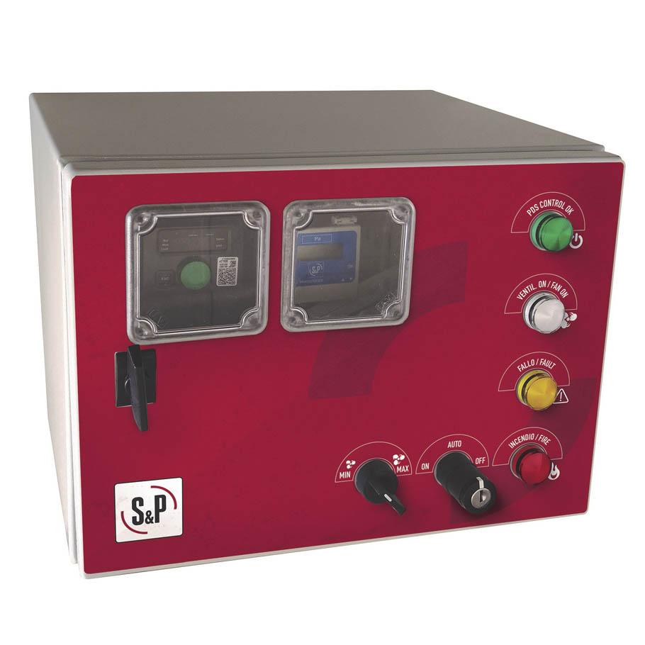 Cuadros de control para sistemas de diferencial de presión