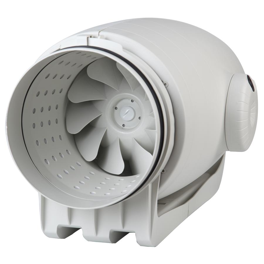 Ventiladores en línea para conductos circulares