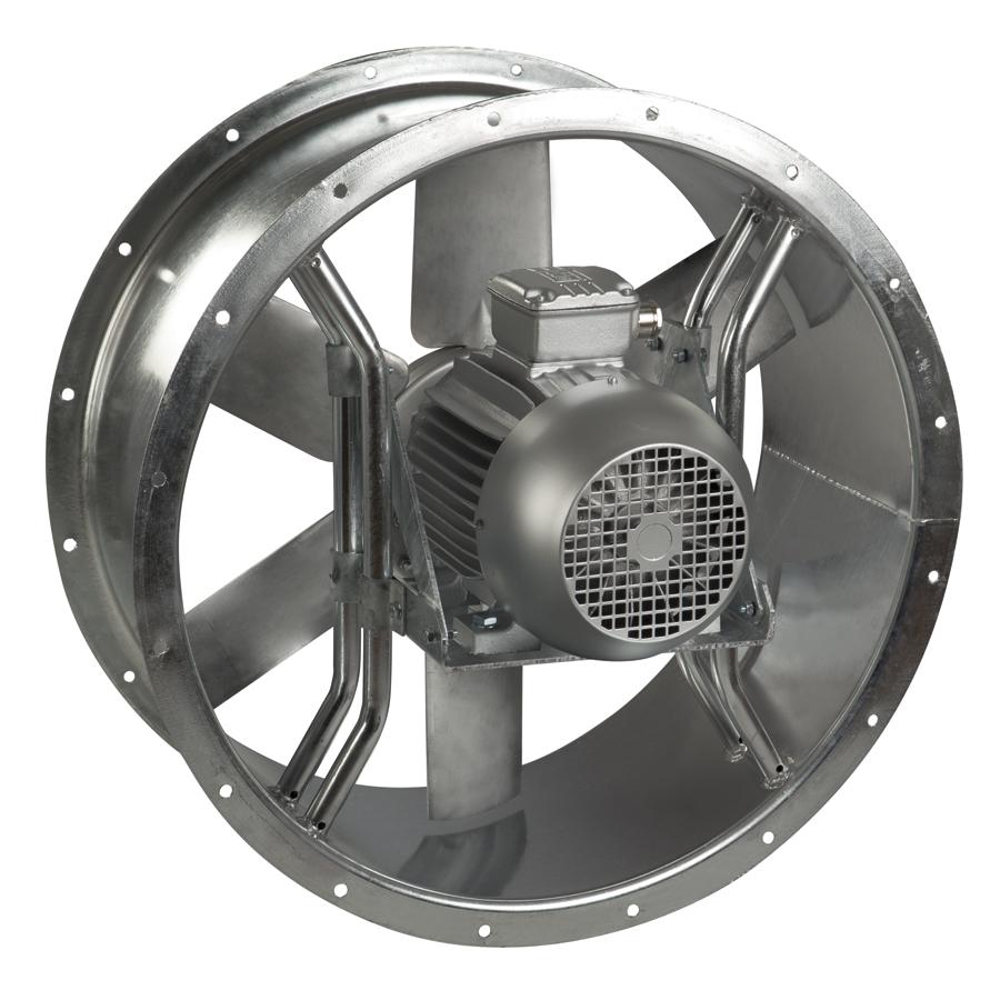 Ventilateurs Helicoïdes Tubulaires