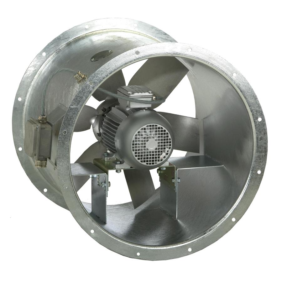 Ventilateurs-Helicoides-Tubulaires