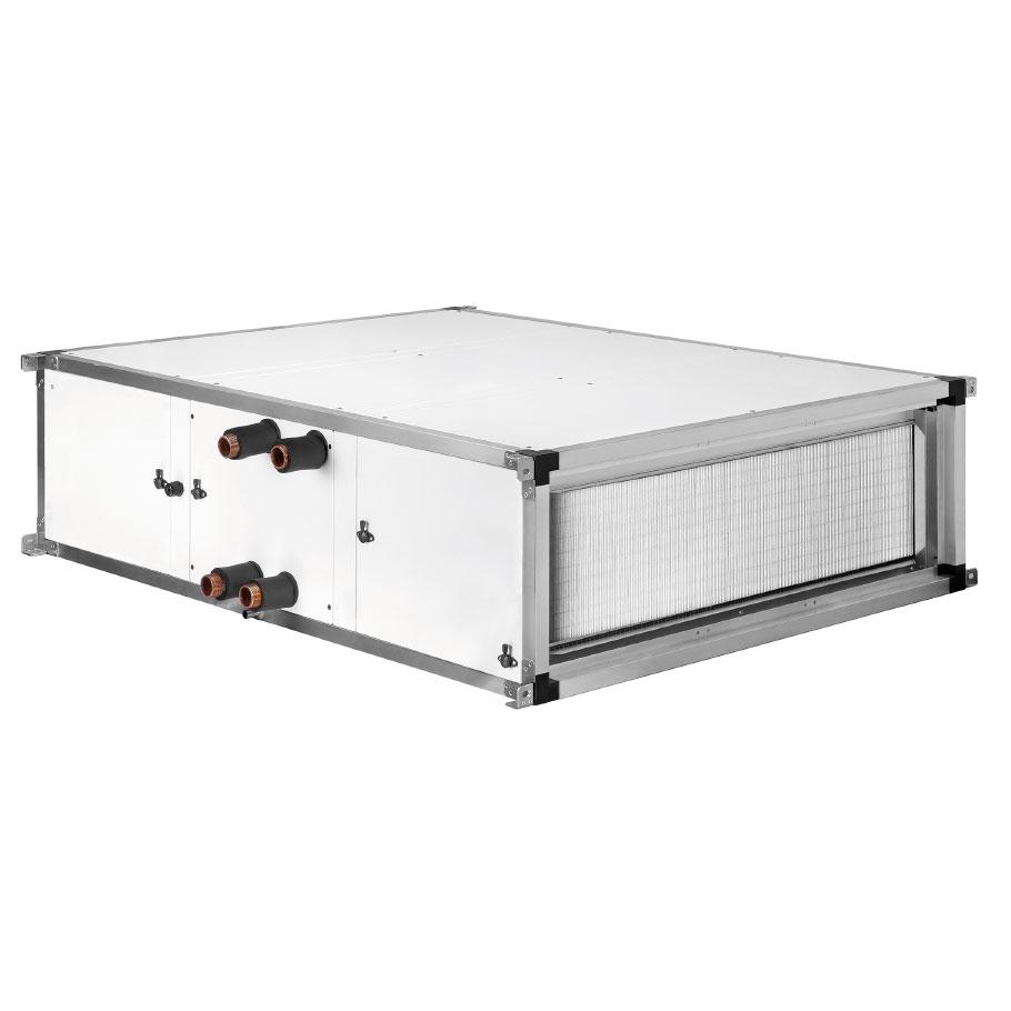Compacte luchtbehandelingskasten toevoer