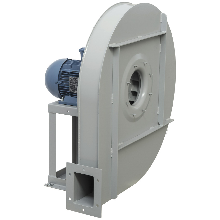 High pressure centrifugal fans with backward curved impeller