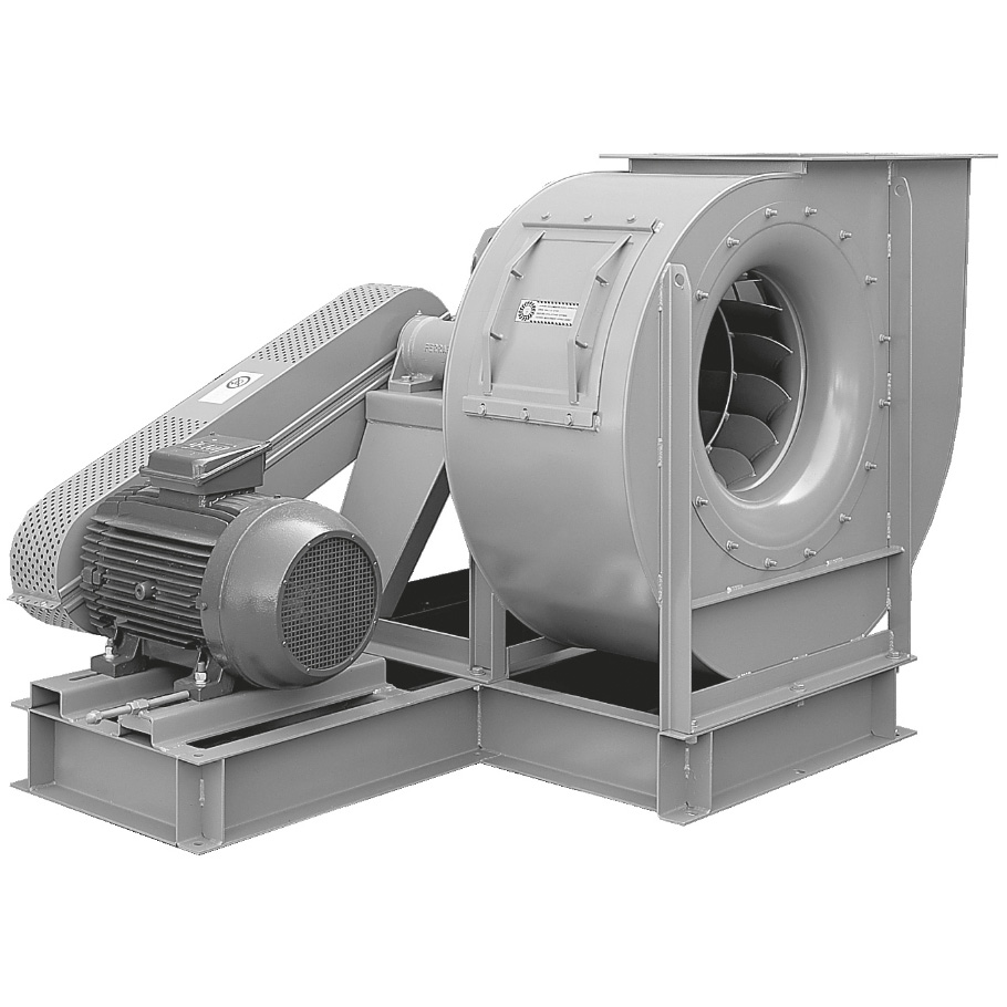 Backward curved centrifugal fans belt drive
