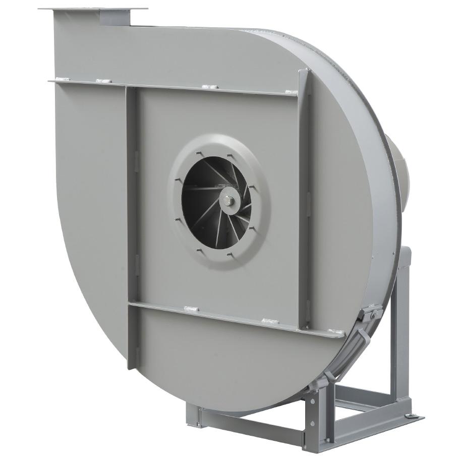 Rodete álabes radiales para transporte de materia acoplamiento directo