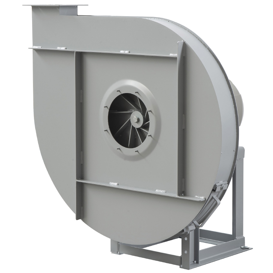 Radial Centrifugal fans for transportation of materials direct drive