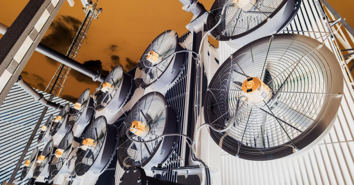 Ventilación para enfriamiento de transformadores