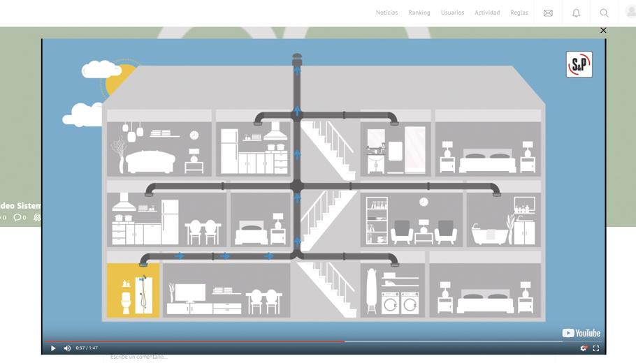 S&P Campus - Contenido introducción a la ventilación
